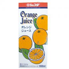 【朝食オススメ ドリンク】JFDA)オレンジジュース 1L